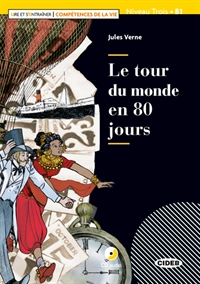 Le tour du monde en 80 jours - Niveau 3 (Bog + CD + Download)